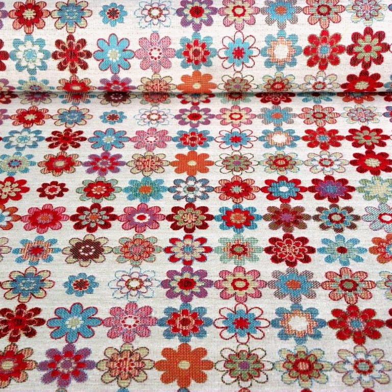 JEANS, kétoldalas, farmerkék csipkemintás, prémium minőségű spanyol lakástextil
