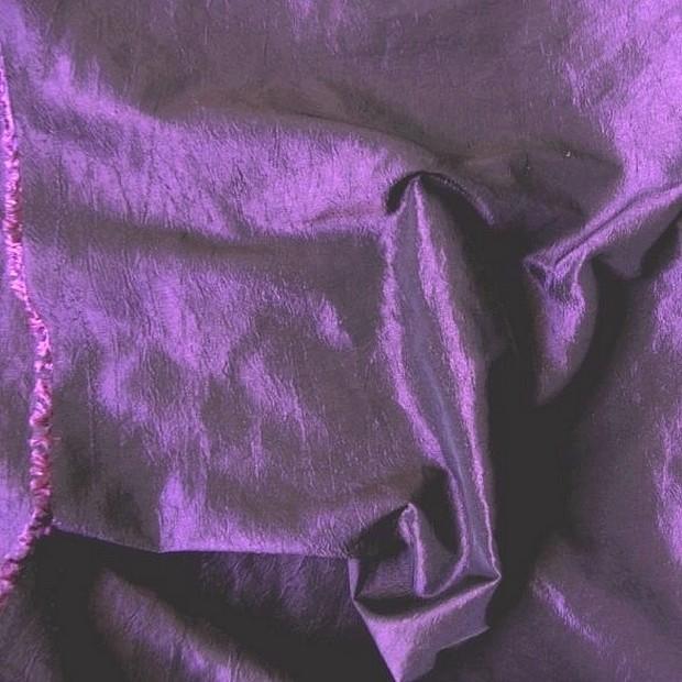 Gyűrt taft, világoslila sötétítő, dekor függöny anyag