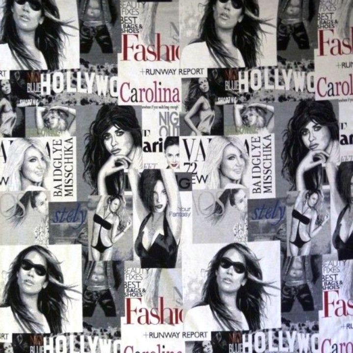Hollywood, girls mintás, prémium minőségű spanyol jacquard lakástextil