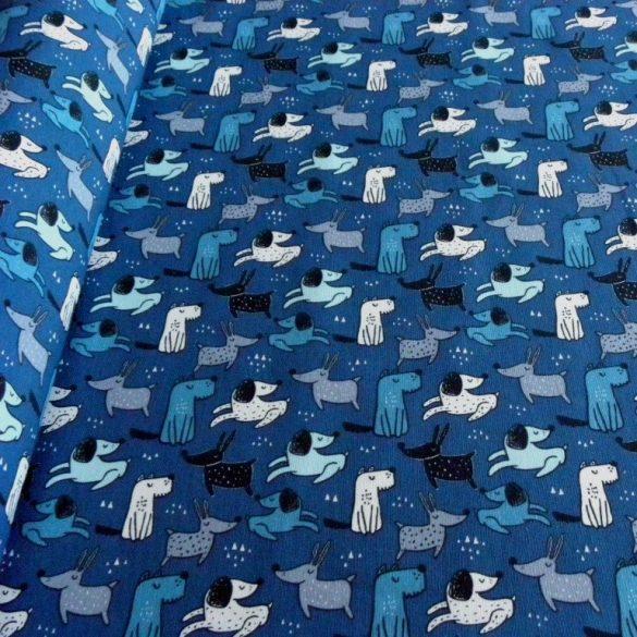 FÉLIX, kutya mintás lakástextil, dekorvászon