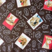 MY DOG, kutyás lakástextil, dekorvászon