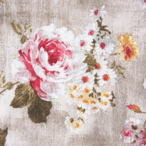 ROXANNE, rózsás lakástextil, dekorvászon