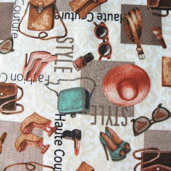 DIVAT mintás lakástextil, dekorvászon