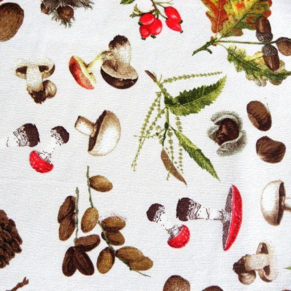ŐSZI termések mintás lakástextil, dekorvászon