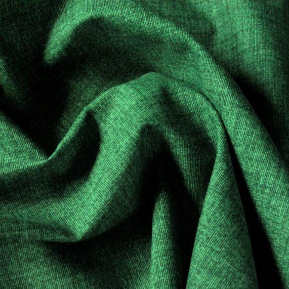 Spanyol lakástextil - raszteres, uni fenyőzöld