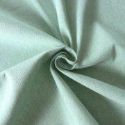 ABA, szövetmintázatú, egyszínű lakástextil - víz zöld