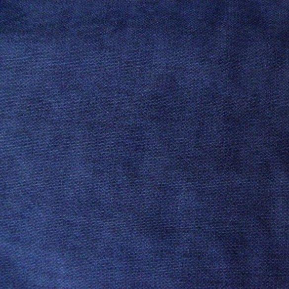 ABA, szövetmintázatú, egyszínű lakástextil - navy, tengerészkék