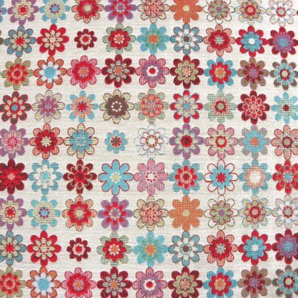 JEANS, kétoldalas, farmerkék csipekmintás, prémium minőségű spanyol lakástextil