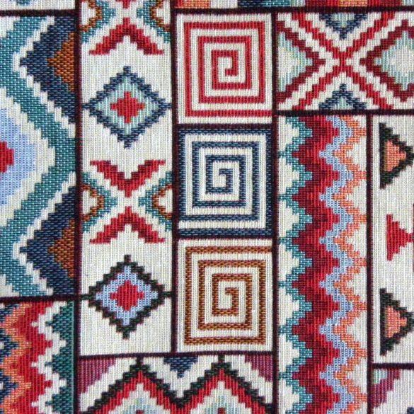 AZTEC, szőttes mintás, jacquardszövött, prémium lakástextil