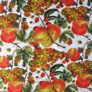 FRUIT, őszi gyümölcs mintás lakástextil, dekorvászon