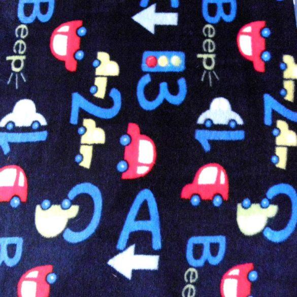 BEEP, autós, betűs, számos, kék, egyoldalas wellsoft méteráru