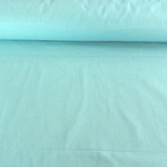 Uni, egyszínű pamut vászon, 160 cm széles, menta
