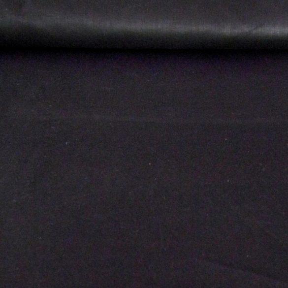 Uni, egyszínű pamutvászon, 160 cm széles, fekete