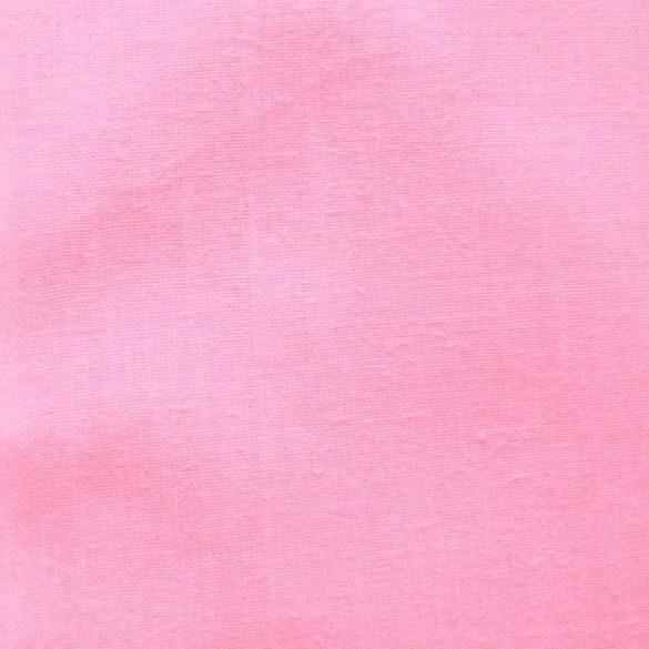 Uni, egyszínű pamutvászon, rózsaszín - 160 cm széles