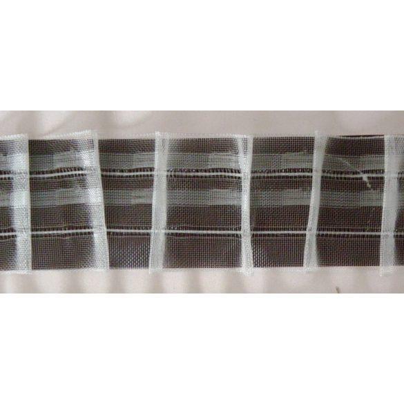 Sínszalag, függönyráncoló, ceruzás 45 mm, 1:1,5