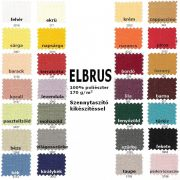 ELBRUS, szövöttmintás, egyszínű, teflonos abroszanyag méteráru