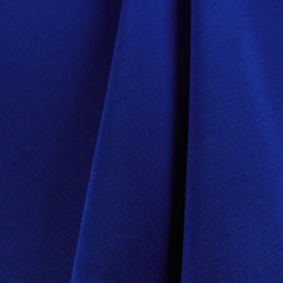 ELBRUS, szövöttmintás, egyszínű, teflonos abroszanyag méteráru, tengerészkék