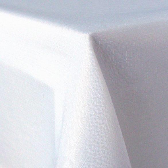 ELBRUS, szövöttmintás, egyszínű, teflonos abroszanyag méteráru, fehér