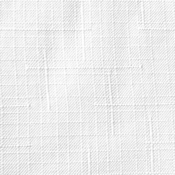 ELBRUS, szövöttmintás, egyszínű, teflonos abroszanyag méteráru, fehér. 160 cm széles