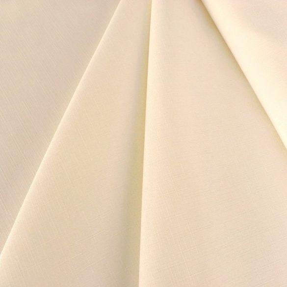 ELBRUS, szövöttmintás, egyszínű, teflonos abroszanyag méteráru, ekrü