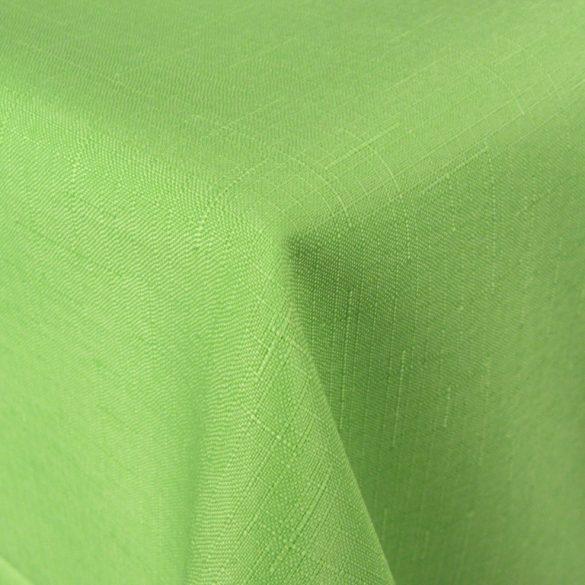 ELBRUS, szövöttmintás, egyszínű, teflonos abroszanyag méteráru, pasztellzöld