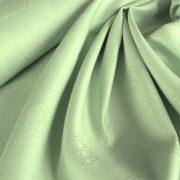 LÍRA, pasztellzöld, azsúrmintás teflonos abroszanyag