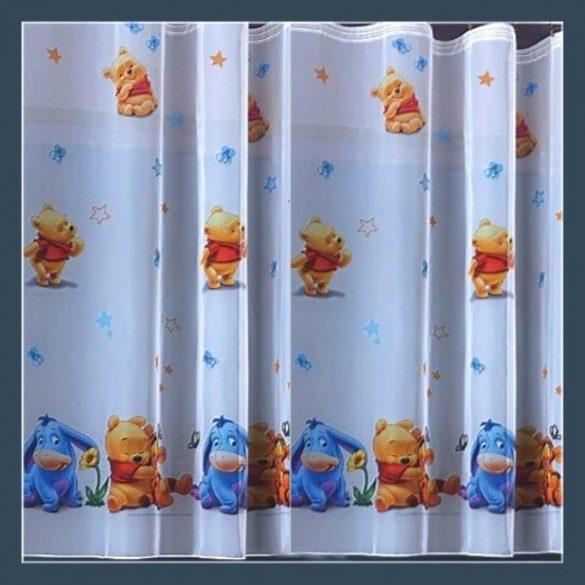 MICIMACKÓ 2, Disney mintás voile függöny anyag