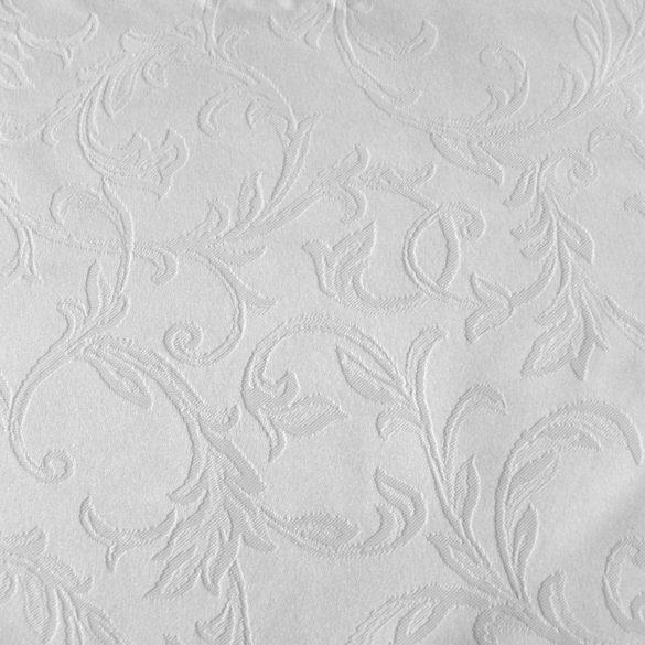 ARES, klasszikus indamintás, fehér teflonos abroszanyag - előrendelhető