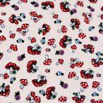 GOMBA, pamutvászon textil méteráru