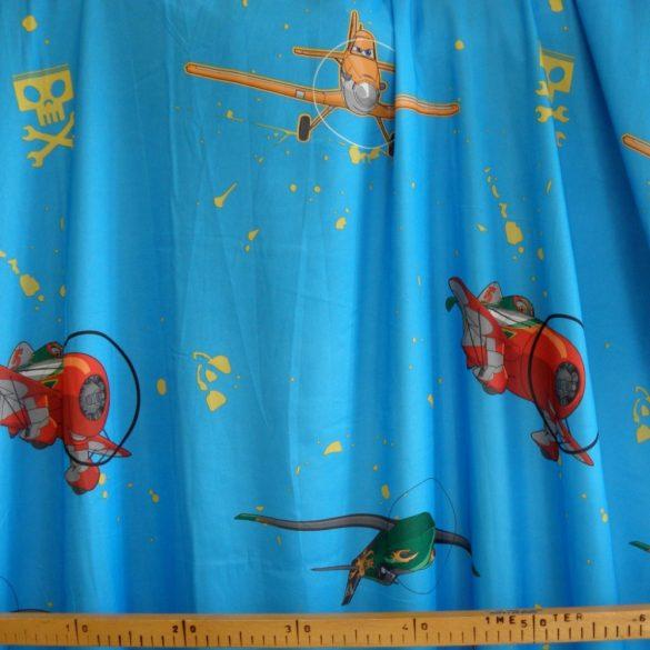 PLANES, Repcsik mintás dekor függöny méteráru