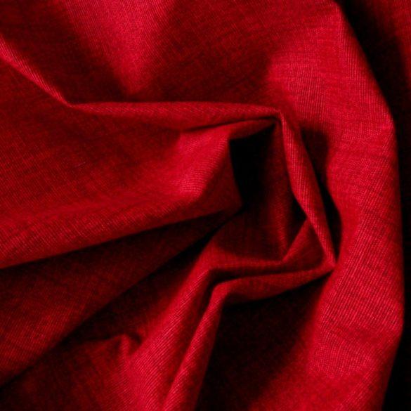 EDGAR - raszteres, egyszínű Loneta lakástextil - 402 sötét piros
