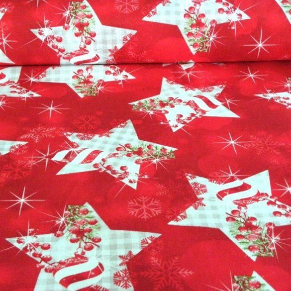 STARSHINE, karácsonyi csillagos lakástextil dekorációs anyag