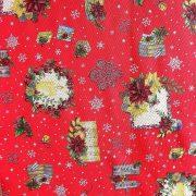 NOEL HOUSE, karácsonyi mintás lakástextil dekorációs anyag