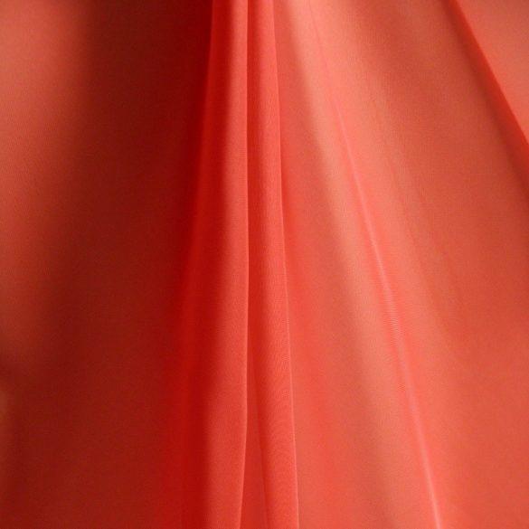 Terrakotta voile, fényáteresztő függöny anyag, 300 cm magas