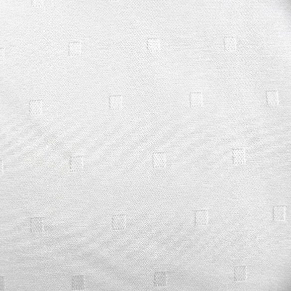 PÖTYI, kispöttyös, fehér egyszínű, teflonos abroszanyag méteráru