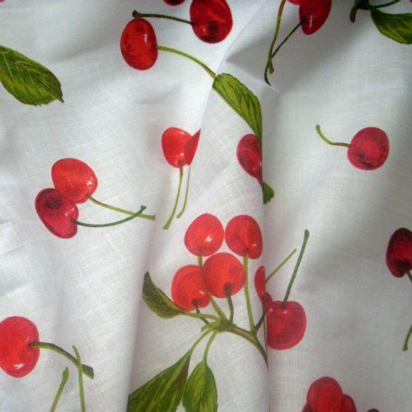 Cseresznyés kevertszálas vászon