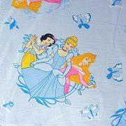 PRINCESSE, Disney jogdíjas, Hercegnős kék kevertszálas vászon