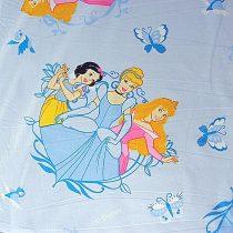 Disney hercegnők mintás pamut-poliészter vászon