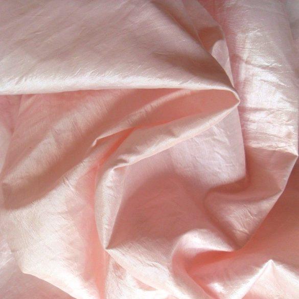 Gyűrt taft, rózsaszín
