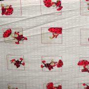 Katicás gyerekmintás krepp ágyneműanyag