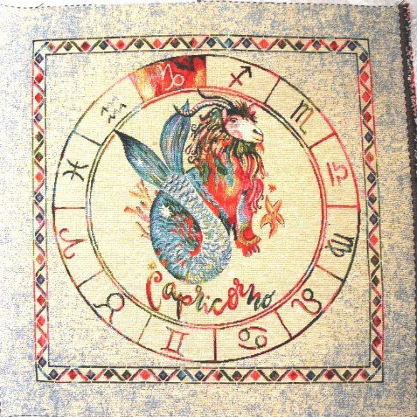 Horoszkóp, jacquard párna panel - bak