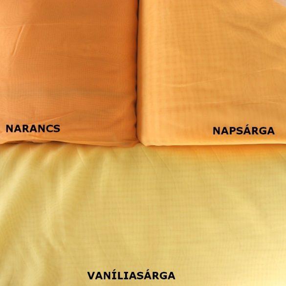 Narancssárga voile, fényáteresztő függöny anyag, 180 cm magas