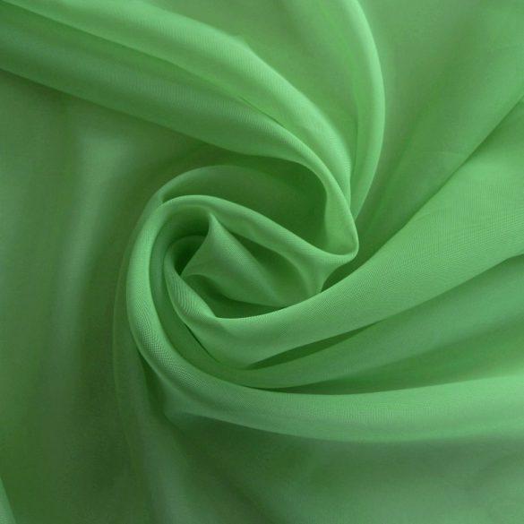 Limezöld voile, fényáteresztő függöny anyag, 180 cm magas