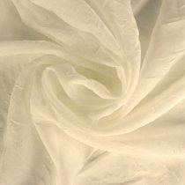 Gyűrt voile fényáteresztő függöny anyag, levendulakék