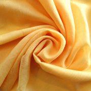Gyűrt voile fényáteresztő függöny anyag, aranysárga