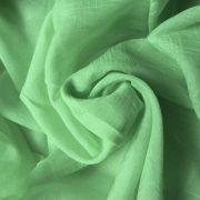 Gyűrt voile fényáteresztő függöny anyag, lime