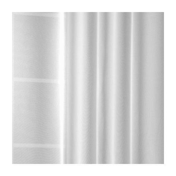 Fehér voile fényáteresztő függöny, 300 cm magas