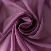 Különleges sötét mauve voile, fényáteresztő függöny anyag