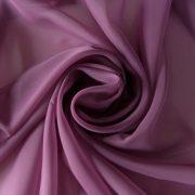 Különleges sötét mauve voile, fényáteresztő függöny anyag, 300