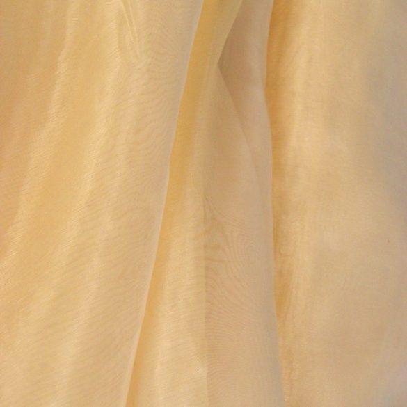 TERNI,  organza függöny anyag, karamell